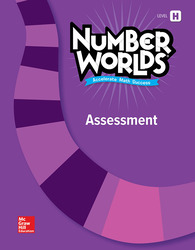Number Worlds Level H, Assessment