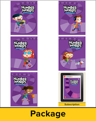 Number Worlds Level H, Student Materials Bundle (5 students, 1-year)
