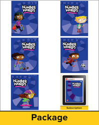 Number Worlds Level J, Student Materials Bundle (5 students, 1-year)