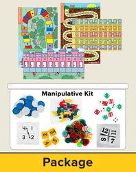 Number Worlds Level D, Manipulatives Plus Pack