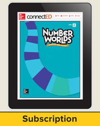 Number Worlds Level C, Student Materials Bundle (5 students, 1-year)