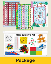 Number Worlds Level A, Manipulatives Plus Pack