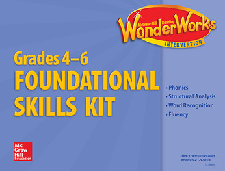 Reading Wonderworks Foundational Skills Kits Grades 4-6