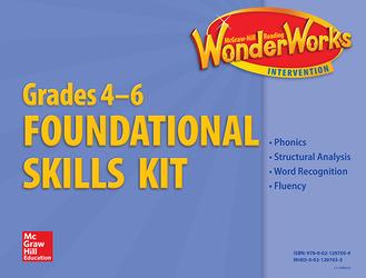 Reading Wonderworks Foundational Skills Kits Grades 4-6