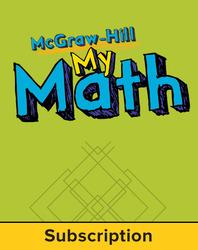 McGraw-Hill My Math, Grade PK, Online eStudent Flipbook, 1 year subscription