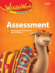 Reading Wonderworks Assessment Black Line Masters Grade 3