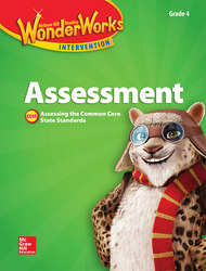 Reading Wonderworks Assessment Black Line Masters Grade 4