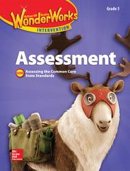 Reading Wonderworks Assessment Black Line Masters Grade 5