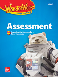 Reading Wonderworks Assessment Black Line Masters Grade 6