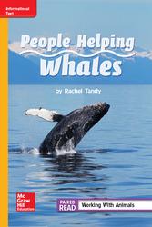 Reading WonderWorks Apprentice People Helping Whales Unit 1 Week 4 Grade 2