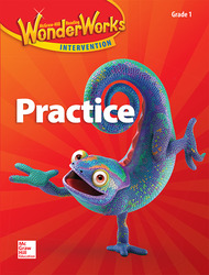 Reading Wonderworks Practice Black Line Masters Grade 1