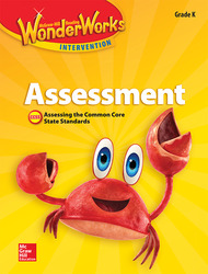 Reading Wonderworks Assessment Black Line Masters Grade K