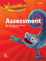 Reading Wonderworks Assessment Black Line Masters Grade 1