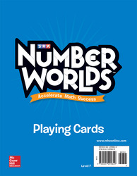 Number Worlds Playing Cards Level F