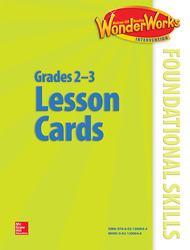 Reading Wonderworks Foundational Skills Lesson Cards Grade 2-3