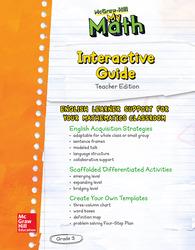 MH My Math ELD TE Grade 3