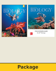 Mader Biology: Student Edition with AP Focus Review Guide Bundle