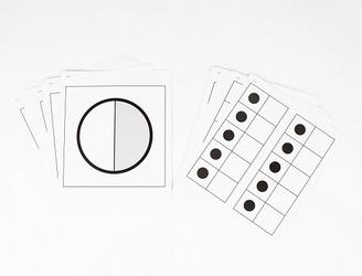 Everyday Mathematics 4, Grade K, Quick Look Cards - Five Frames
