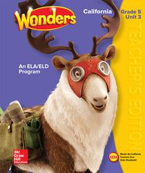 CA Teacher's Edition Grade 5 Vol. 3