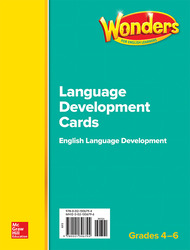 Wonders for English Learners G4-6 Language Development Cards