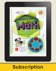 CUS New York My Math Grade 4 Student Online Edition 1 year subscription
