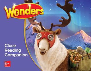 Wonders Close Reading Companion, Grade 5