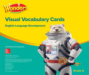 Wonders for English Learners G6 Visual Vocabulary Cards