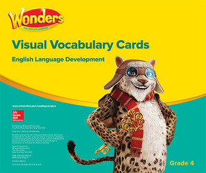 Wonders for English Learners G4 Visual Vocabulary Cards
