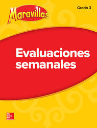 Lectura Maravillas | Student Weekly Assessment Grade 3