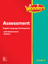 Wonders for English Learners G5 Assessment