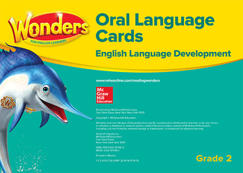 Wonders for English Learners G2 Oral Language Cards