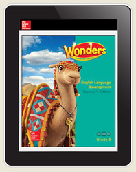 Reading Wonders for English Learners 6 Seats Student Workspace  1 Yr Subscription Grade 3