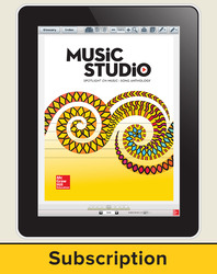Spotlight on Music, Grade K Online Student Course Ten  Seat Add-On, 6 Year Subscription
