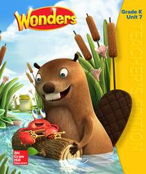 Wonders Teacher's Edition, Volume 7, Grade K
