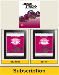 Spotlight on Music, Grade 7 Digital Bundle, 1 Year
