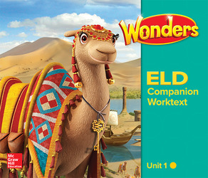 Wonders for English Learners G3 U1 Companion Worktext Beginning
