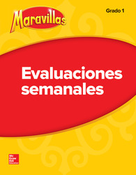 Lectura Maravillas Student Weekly Assessment Grade 1