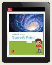 Inspire Science Grade 2, Online Teacher Center, 7-Year Subscription