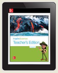 Inspire Science Grade 3, Online Teacher Center, 5-Year Subscription