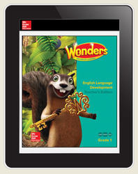 Reading Wonders for English Learners Student Workspace 8 Yr Subscription Grade 1
