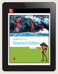 Inspire Science Grade 3, Online Teacher Center with Print Offline Support, Teacher Bundle 7-Year Subscription