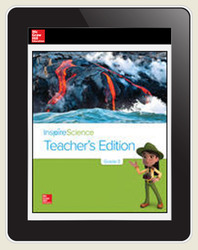 Inspire Science Grade 3, Online Teacher Center with Print Offline Support, Teacher Bundle 7-Year Subscription