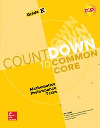 MH My Math Countdown to Common Core Grade K