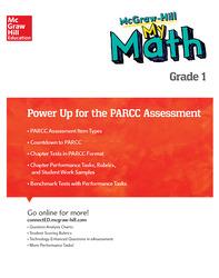 MH My Math, Grade 1, Power Up for PARCC Assessment