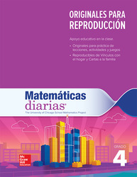 Everyday Mathematics 4th Edition, Grade 4, Spanish Math Masters