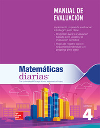 Everyday Mathematics 4th Edition, Grade 4, Spanish Assessment Handbook