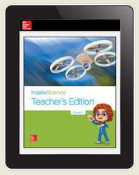 Inspire Science Grade 1, Online Teacher Center, 7-Year Subscription