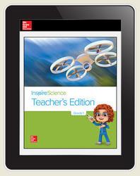 Inspire Science Grade 1, Online Teacher Center, 7-Year Subscription