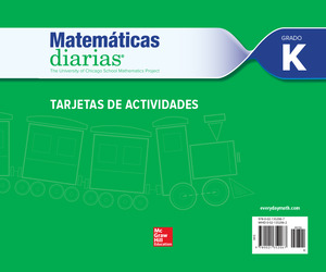 Everyday Mathematics 4th Edition, Grade K, Spanish Activity Cards