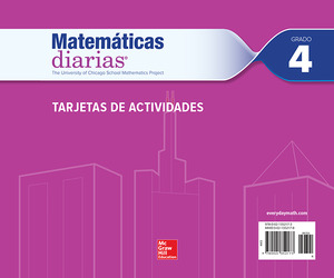 Everyday Mathematics 4th Edition, Grade 4, Spanish Activity Cards